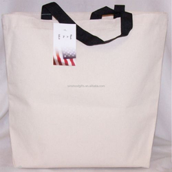 wholesale promotional china blank canvas tote bags