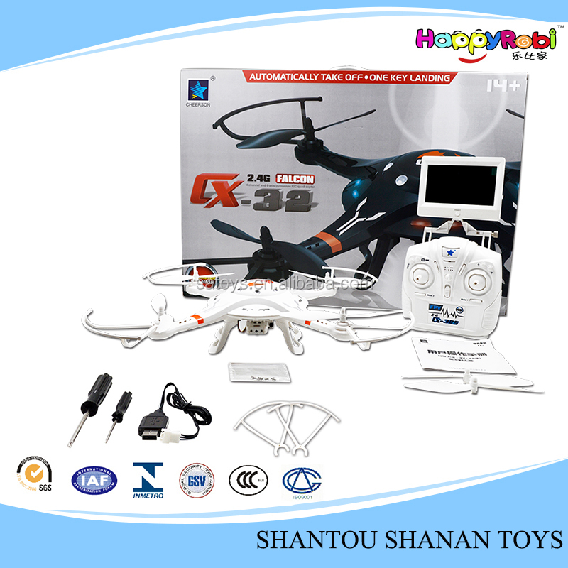CX-32S 5.8G Real-time Transmission drone airplane