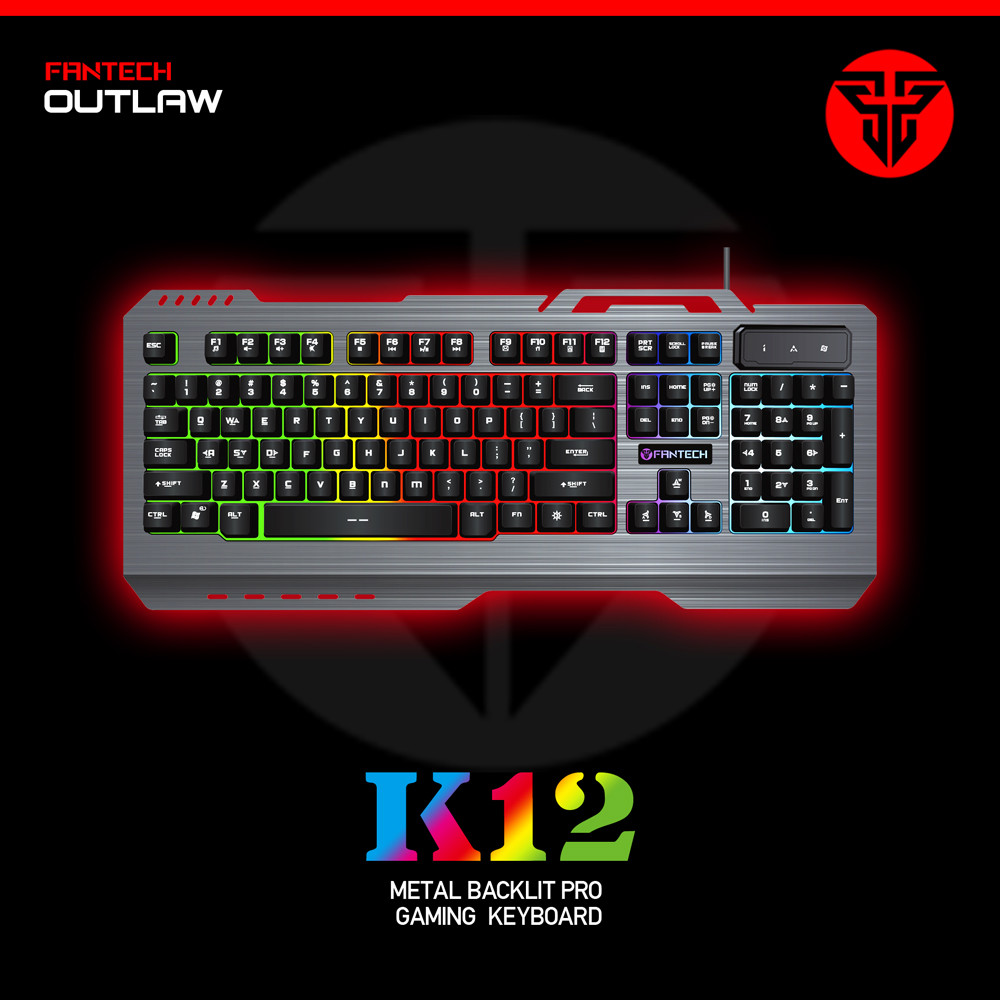 Metal Keyboard 104 Keys LED Backlit USB Original Gaming Keyboard Gaming Keyboard for Laptop Desktop