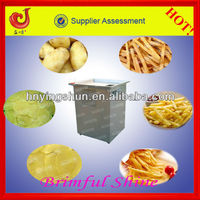 2015 high performance commercial electric potato chips cutter machine/potato chips machine/potato strip making/chips cutting