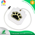 Pet dog and cat fountain outdoor step on clean water drinker/waterer with hose