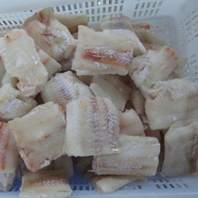 Bulk Packaging and BQF Freezing Process pollock bits and pieces