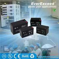 EverExceed 12v 7ah deep cycle small dry cell battery