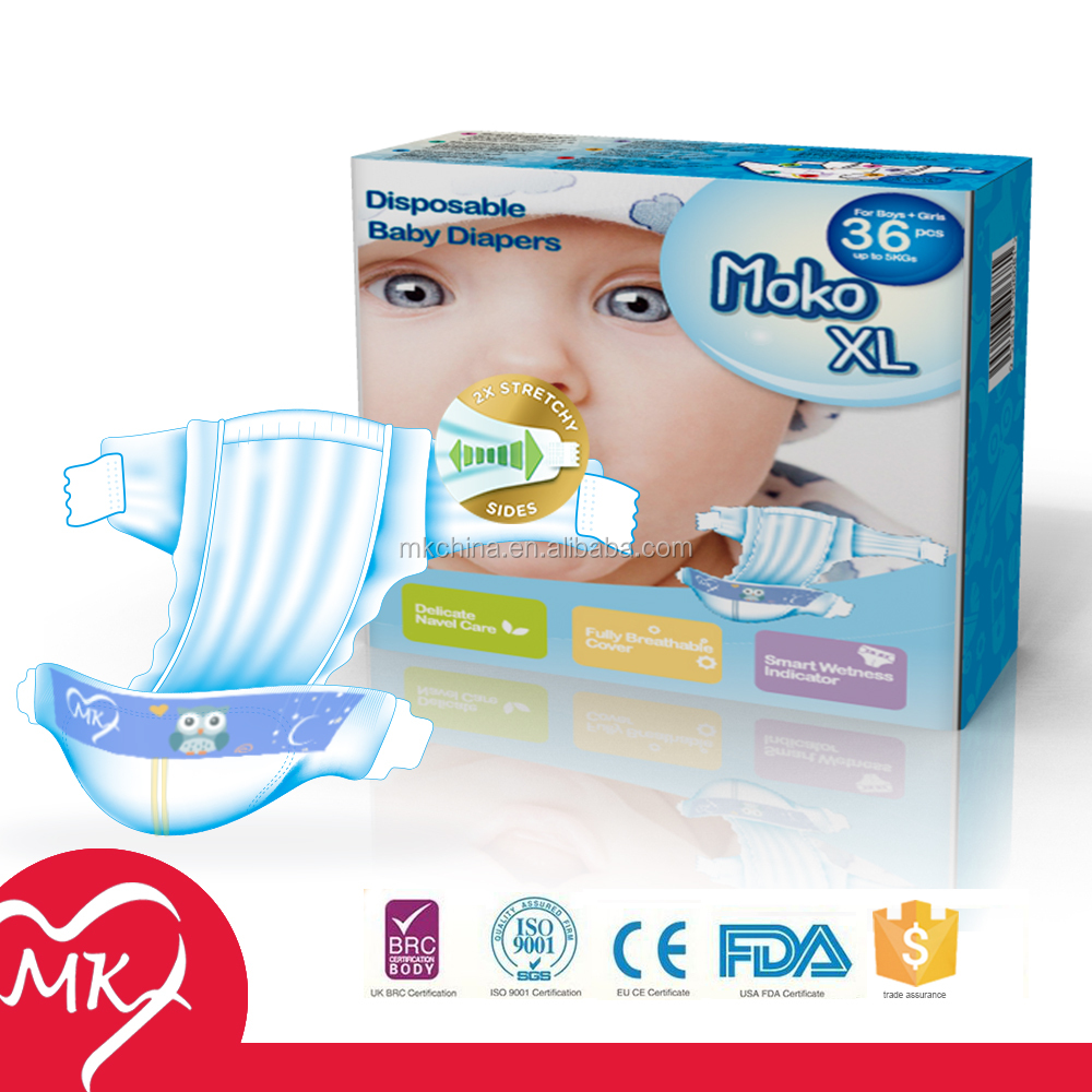 Wholesale molfix sleepy baby diaper manufacturer in China