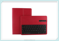 Removable Book Style Leather Case Cover For Apple iPad Air 2 iPad 6 Case with Bluetooth Keyboard Built-in