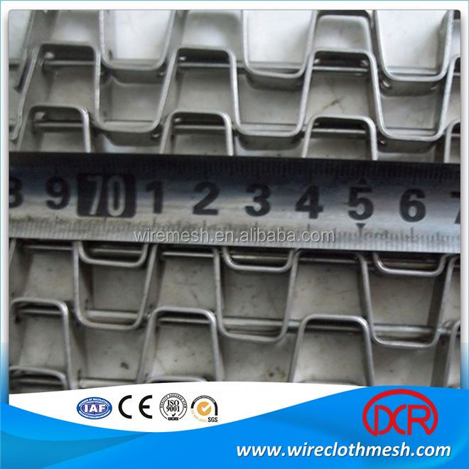 High quality ss 304 316 316l stainless steel belting mesh