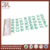 Good Price Diamond Crystal Rhinestone Letters Sticker For Scrapbook