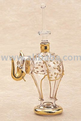 Elephant Perfume Bottle Design