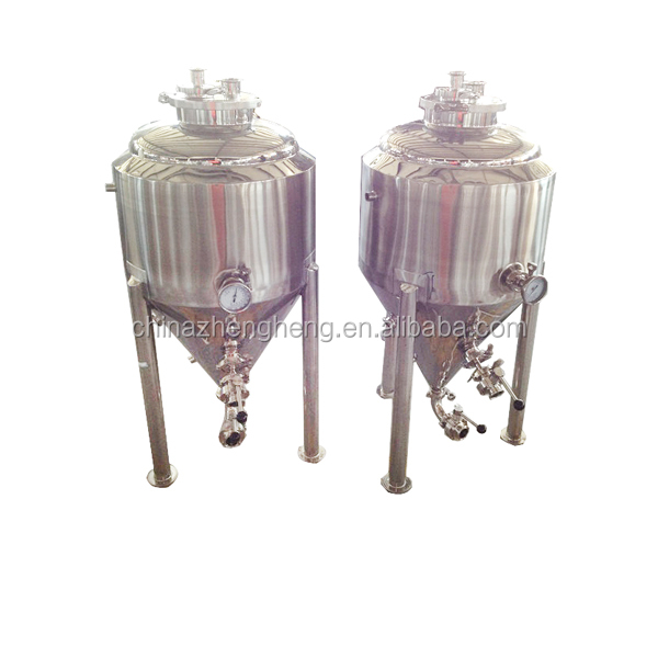 USA customize stainless steel beer conical fermenter with thermometer,butterfly valve
