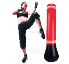 Factory sell customer design inflatable punching bag water filled base