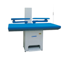 OEM-TP70x140 Double swing arms vacuum industrial ironing table for hotel