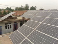 10KW solar power system home 10000w grid tied solar panel kits for home