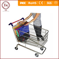 China best factory made foldable Supermarket Trolley Bag/Reusable Trolley Shopping Cart Bag
