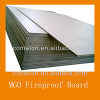 MGO magnesium oxide board fireproof panel for wall construction ceiling