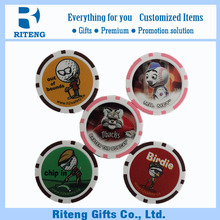 Promotion Unique Plastic Novelty Poker Chips
