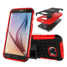 For Samsung galaxy S3 Cover Dual Layer Armor Silicone Hard Non slip Plastic Skin Holder Stand Case For Samsung Galaxy S3
