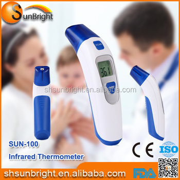 Non-contact infrared thermometer IR thermometer blue&white