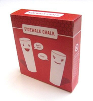 kids sidewalk jumbo white color chalk