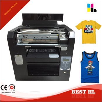 A3 t shirt printer direct to garment printing machine for Cheapest t shirt printing machine