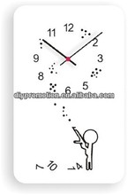 10inch Modern seiko melting metal wall clock for children