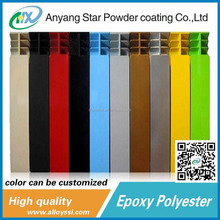 Best Products Anyang Star Supplierral mini Metallic epoxy polyester Powder Coatings