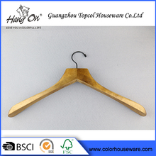 Adult Custom With Metal bar And Clips Baby Original Wooden Hanger