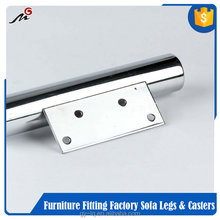 High-grade goods bar stainless steel table leg mounting plate MG117 with low price