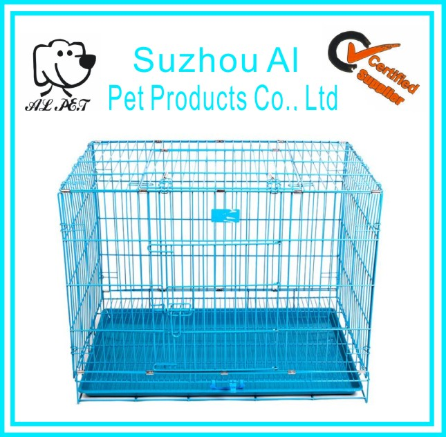 Hot Sale Top Quality Pet Cages Cheap Folding Stainless Steel Dog Cage