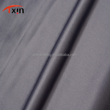 Factory direct warp flannelette fabric polyester brushed fabric for underwear