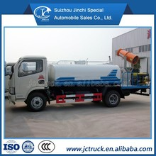 4000 liters water spraying truck watering cart water tank truck for sale Dongfeng 4x2