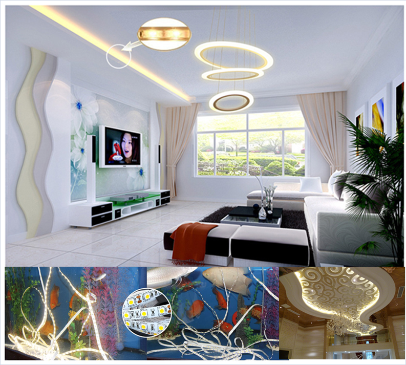 hot sale 2.4w 4.8w led strip 12v / led strip light / rgb led strip 5050