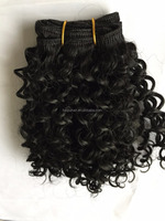 Wholesale price synthetic curly hair weave bundles