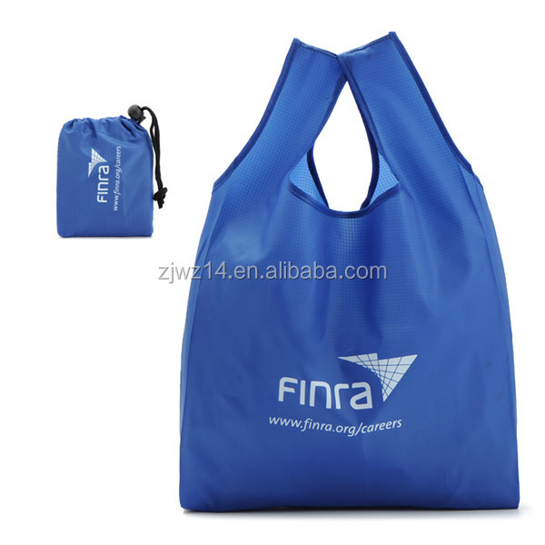 custom design foldable 190t 210d drawstring polyester bag,polyester tote bag,polyester shopping bag