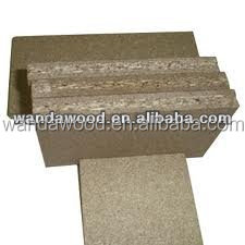 raw chipboard or plain particle board/MFC board