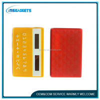 Calculator with pen and business card holder ,H0T055 8 digits mini solar power business card calculator for sale