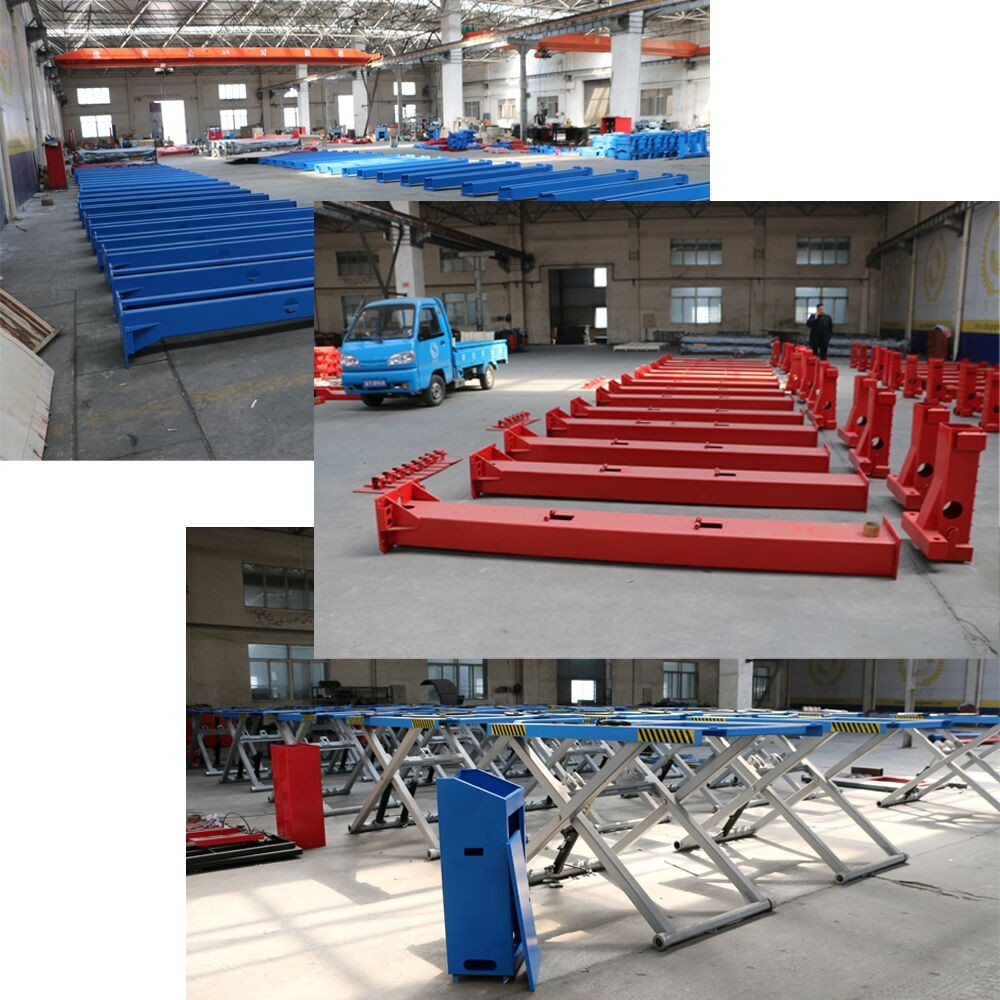 High Quality CE ISO Certification Hydraulic Scissor Car Lift Factory Price