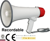 Megaphone with music, CE Certified HY1501B 15W 15Watts Hand Portable Megaphone 10S Recording