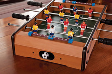 assemble indoor mini football table game