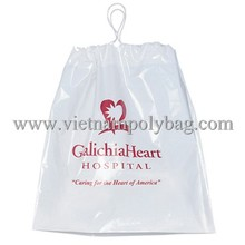 Luxury waterproof drawstring bag for garment