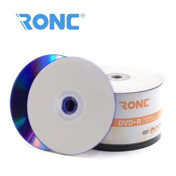 Single Layer 4.7GB Capacity Printable Blank DVD-R 16X