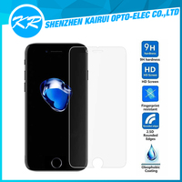 Tempered glass for iPhone7!! Stronger 3D TOUCH 9H 2.5D cell phone tempered glass screen protector for iPhone7