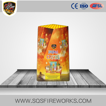 Wholesale outdoor consumer fountains SQS dream castle standard fireworks