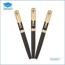 Yiwu wholesale market customised luxury pen, free ink roller ball pen