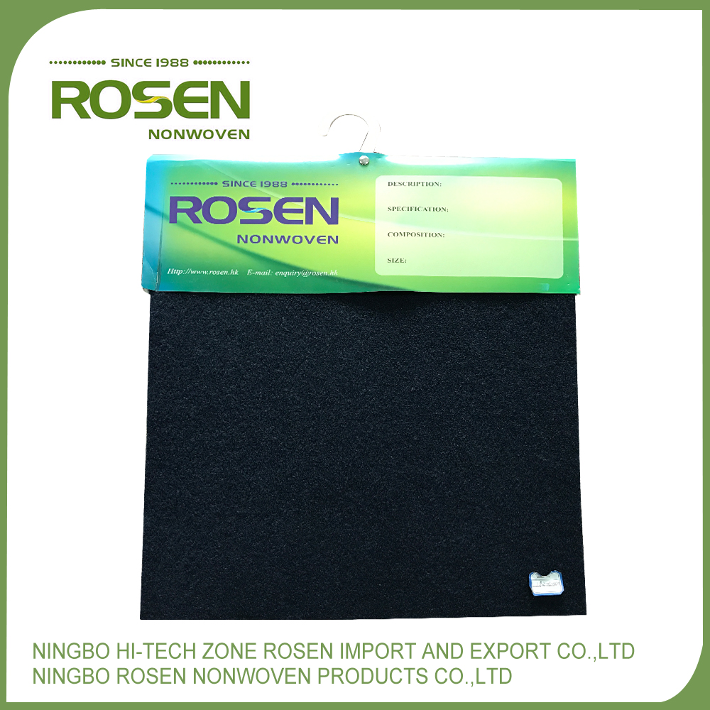 RS NONWOVEN high quality needle punched woven fabric carpet for speaker box