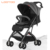 carriola para bebe China factory 4 wheel one hand fold children push chairs for kids with pusher