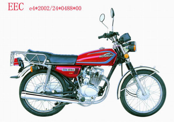 Motorcycle CG125 With EEC