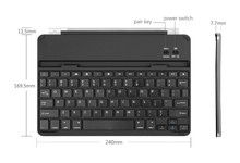 For Ipad Air Case With Korean Keyboard Bluetooth Aluminum Cover