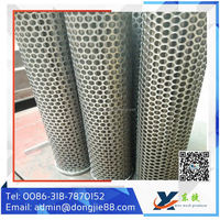 stainless steel 304 306 306l perforated filter tube lowest price