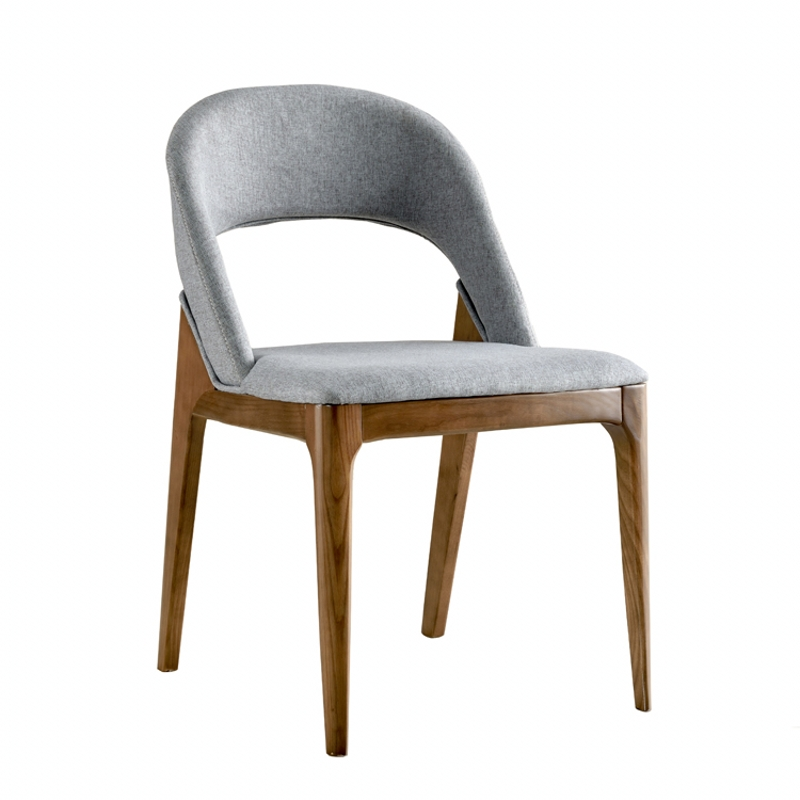 Nordic Wooden Dining <strong>Chair</strong> for Restaurant Cafe