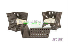JY018Y Rattan sofa with ottoman/imported furniture china
